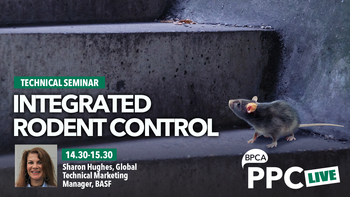 Intergrated rodent control talk at PPC Live 2020