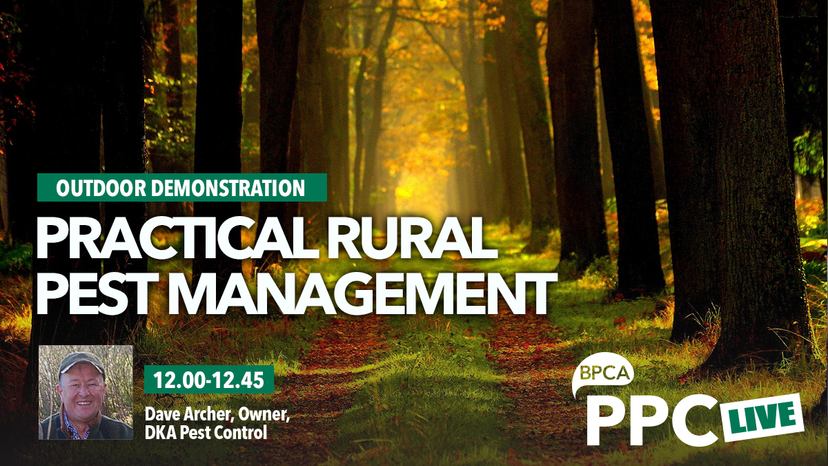 Practical rural pest mangement talk at PPC Live 2020