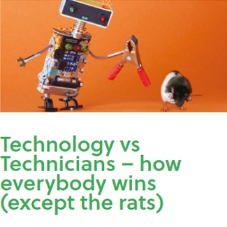 Technology vs Technicians – how everybody wins