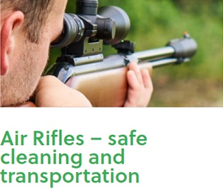 Air rifles at PPC Live