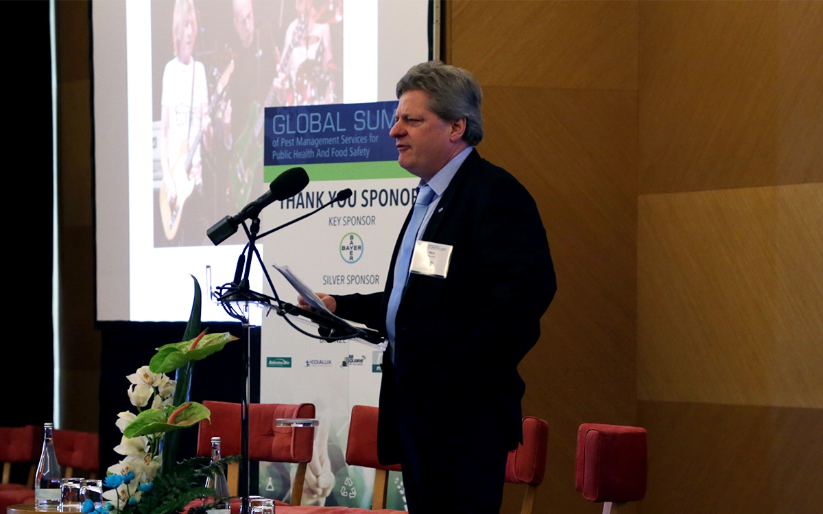 Henry Mott, President of CEPA at the Global Summit