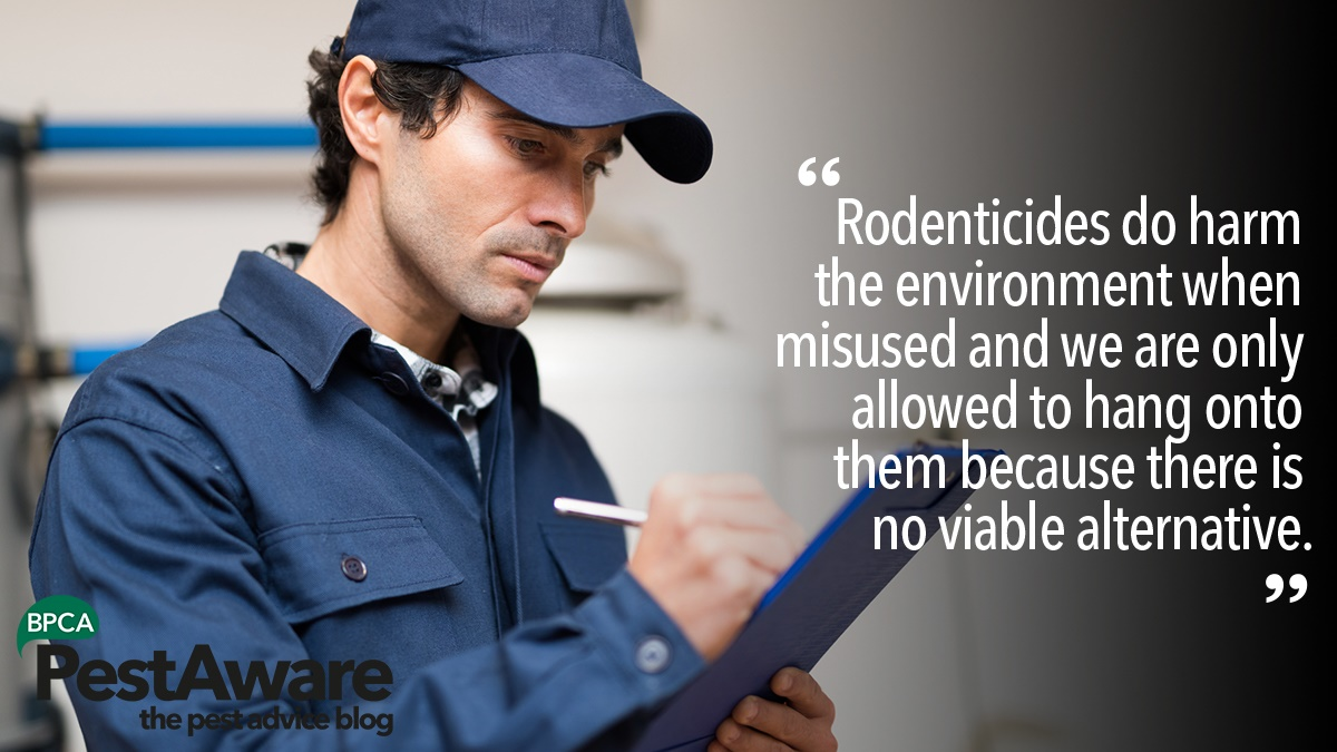 Rodenticides do harm the environment when misused