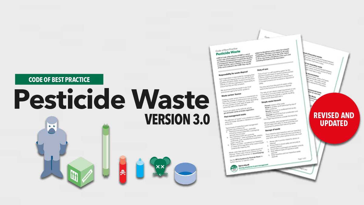 Pesticide Waste version 3 out now