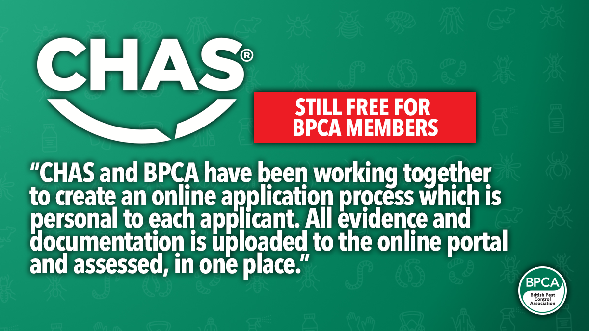 CHAS new way to apply free for BPCA members