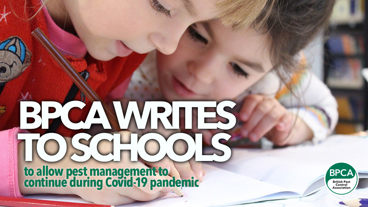 letter to schools pest management key workers covid19 2