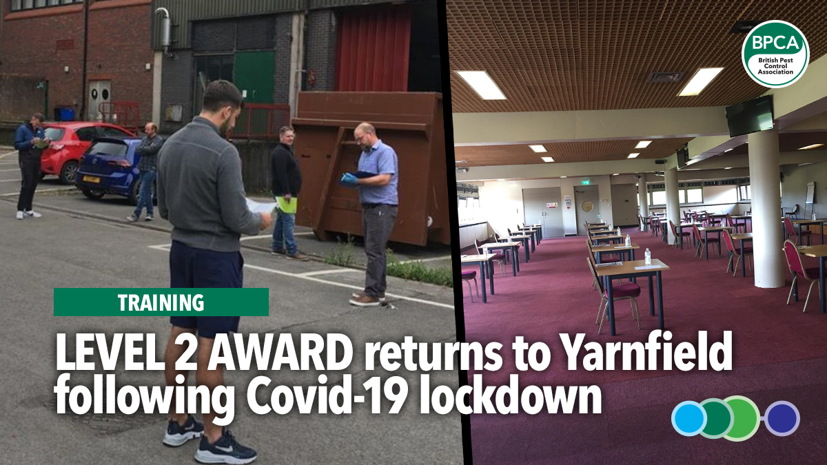 level2-award-in-pest-management-returns-to-yarnfield-following-covid19