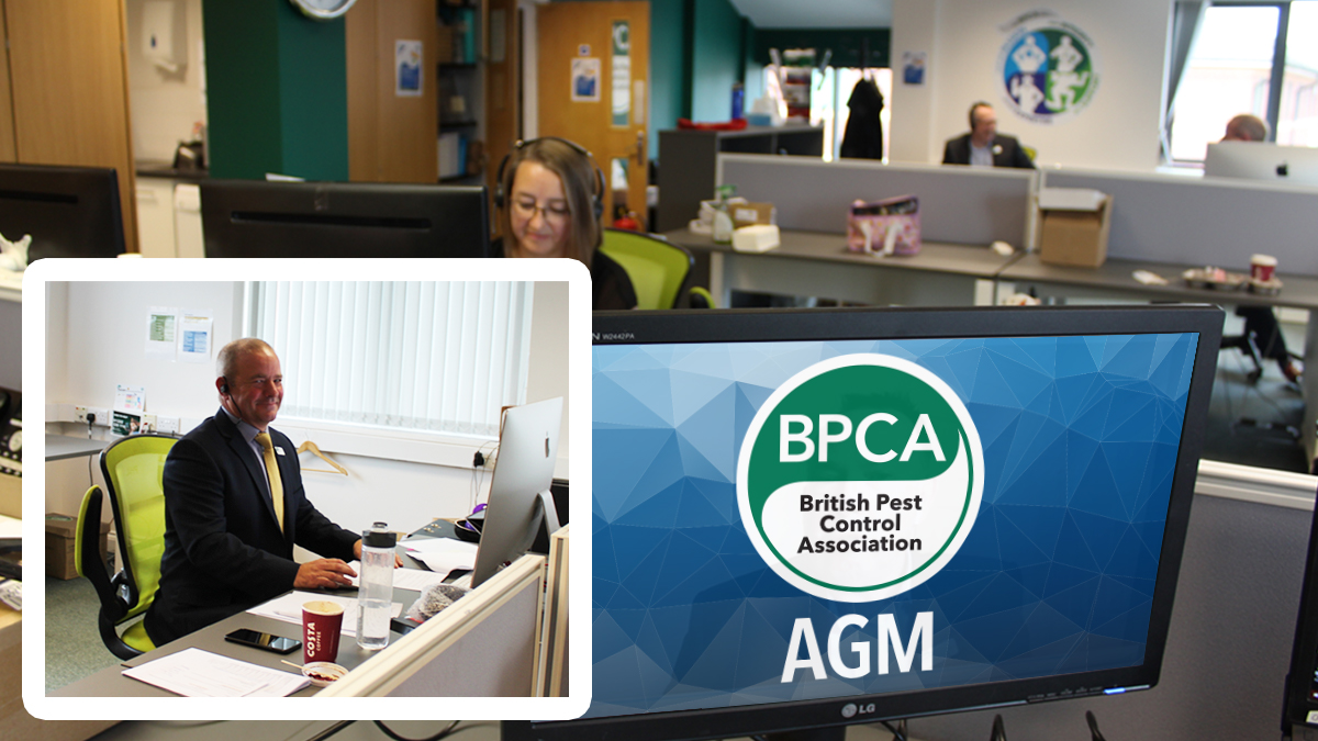 BPCA AGM 2020 behind the scenes at BPCA HQ