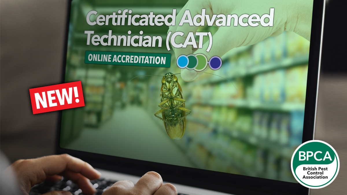 Certificated advanced technican in pest managment exam out now and ready to book online exam and qualification