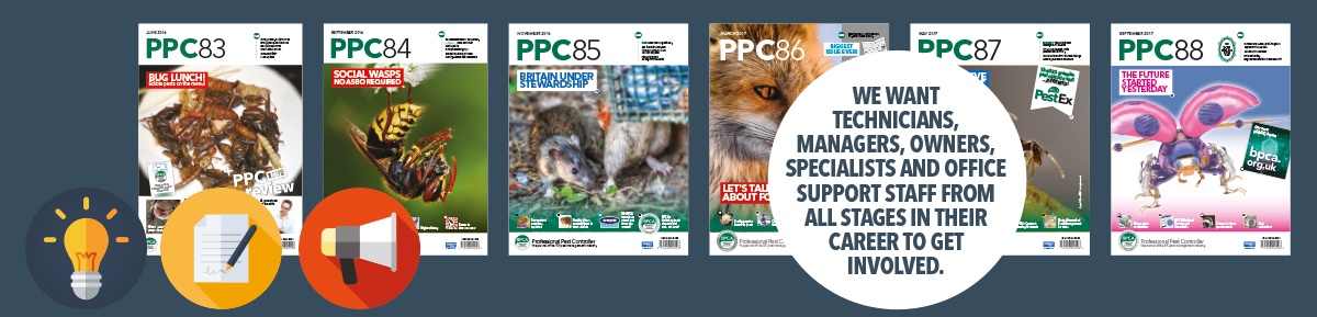 Get involved with PPC magazine