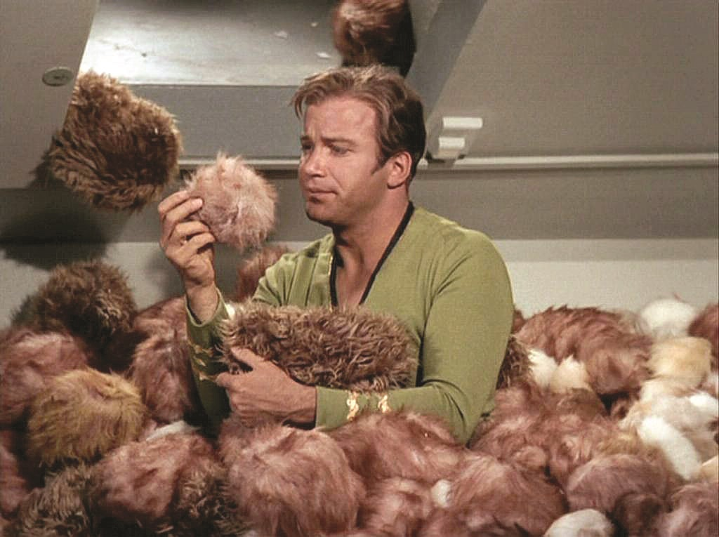 Star Trek S02E13 The Trouble with Tribbles