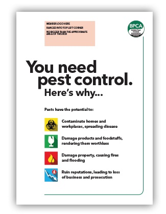 You need pest control here's why