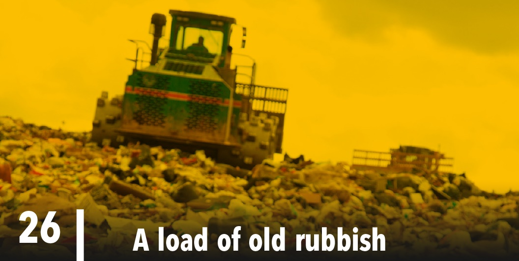 A load of old rubbish in PPC91