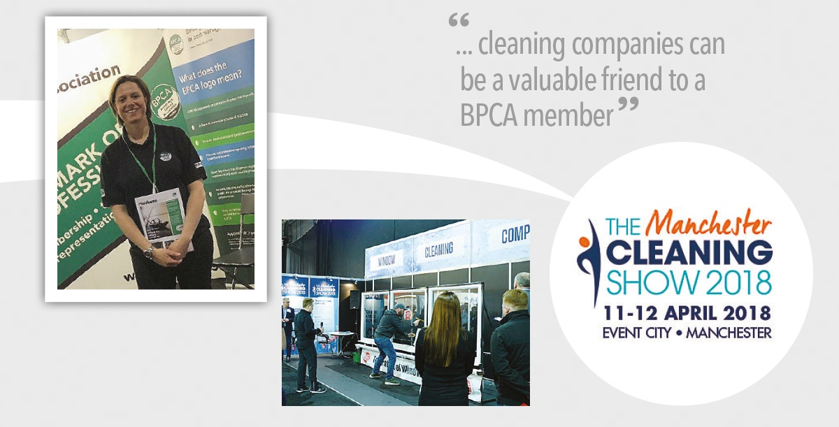 BPCA at the cleaning show 2018