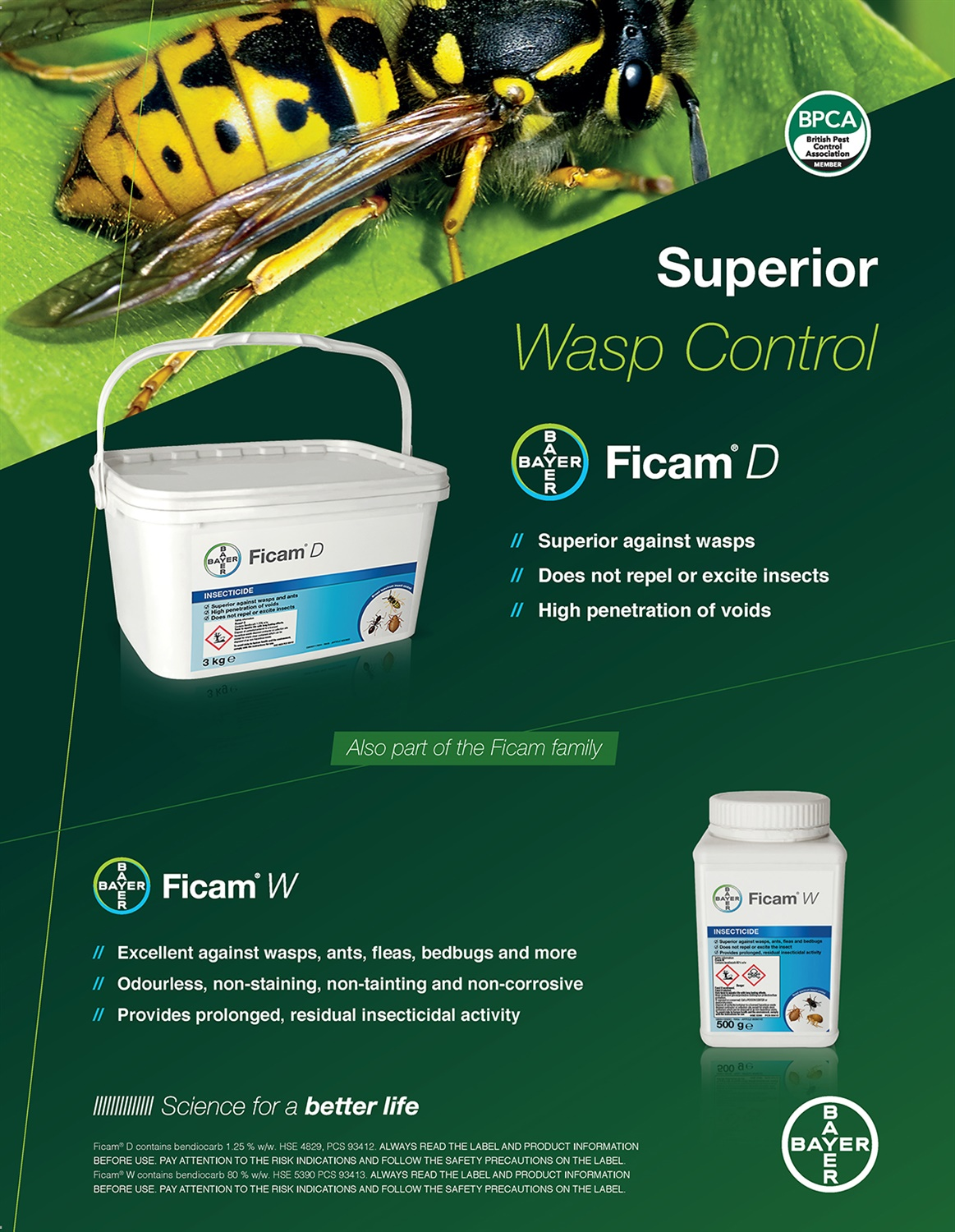 Bayer Wasp Control