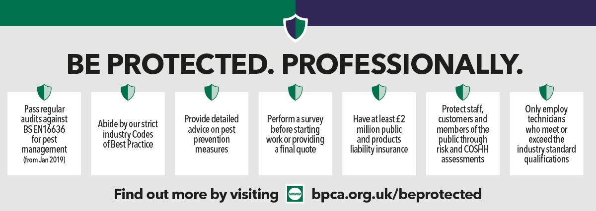 Be protected professionally with a BPCA member