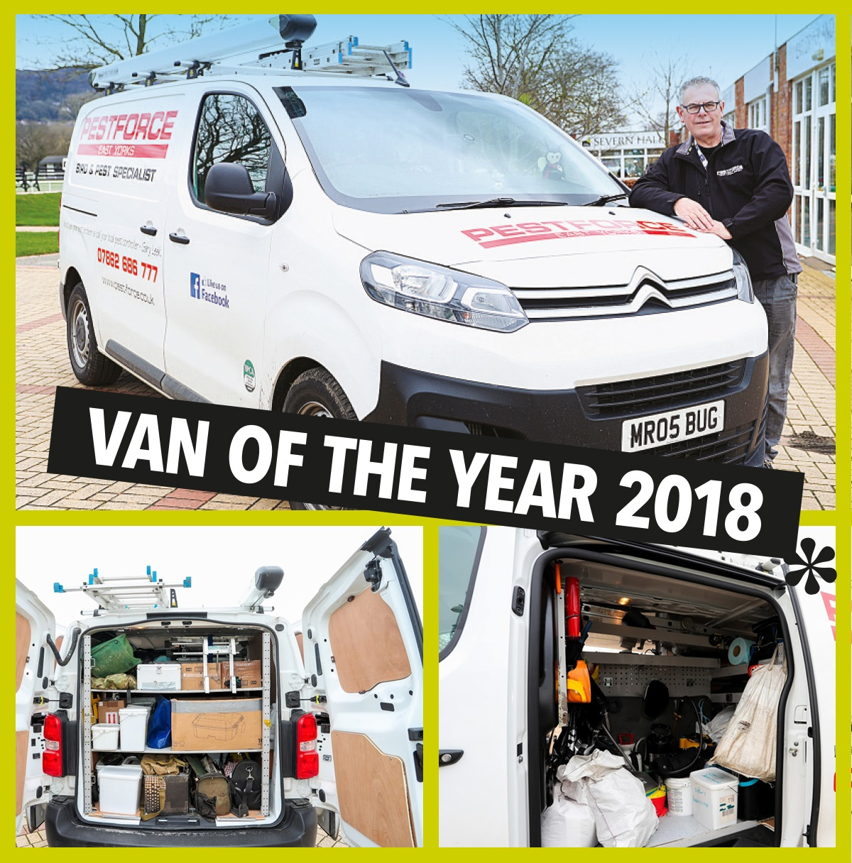 Pest control van of the year 2018