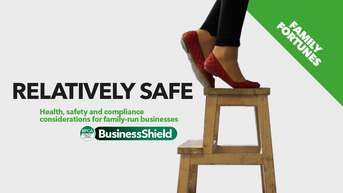Health and safety consoderations for family-run business