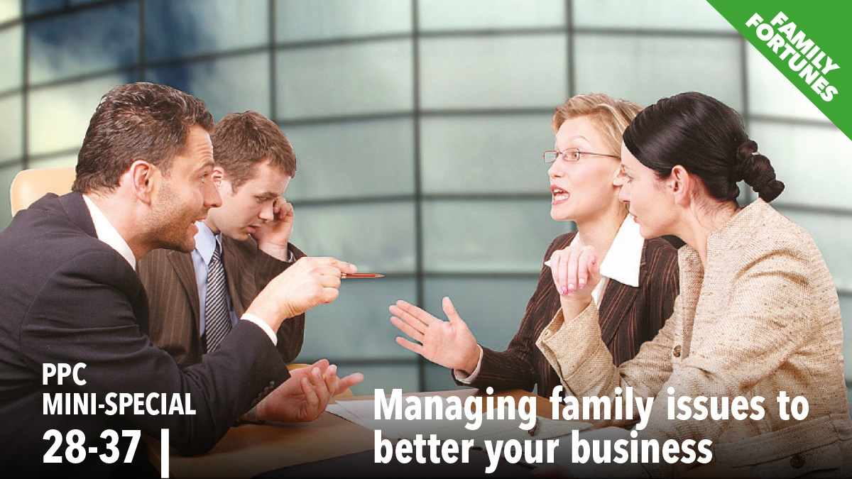 Managing family issues to better your business
