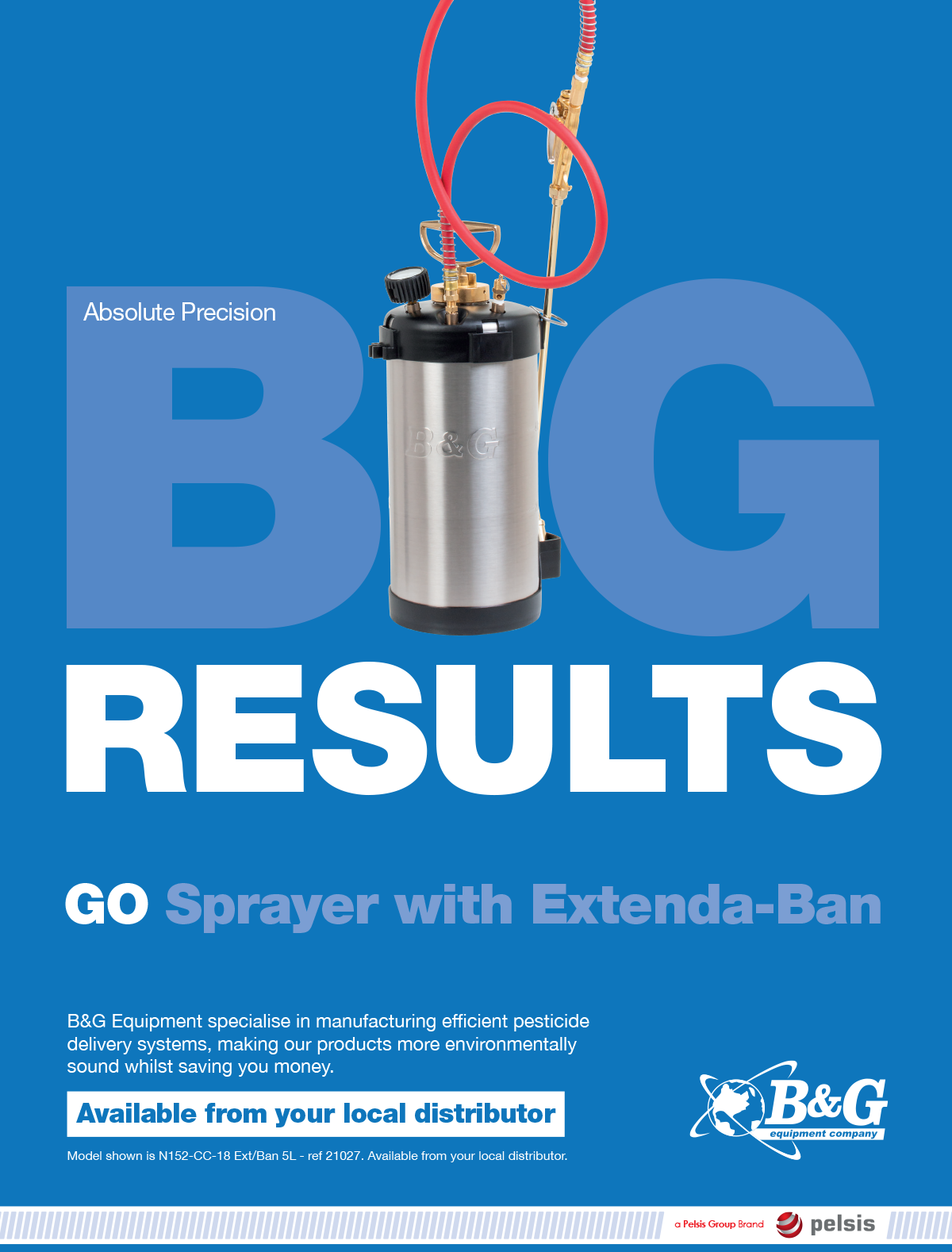 Big results GO sprayer with Extenda-Ban advert in PPC93