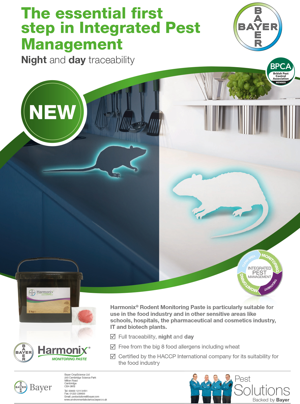 Night and day traceability