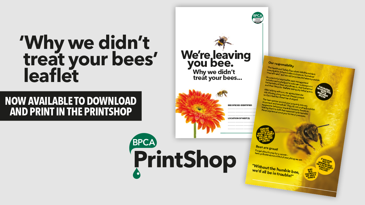 Why we didnt treat your bees leaflet available now