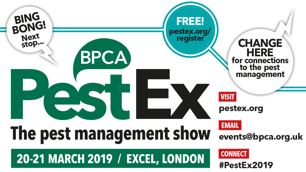 PestEx 2019 register now