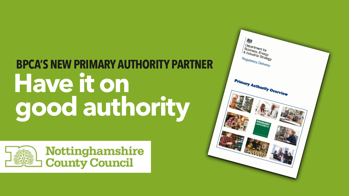 BPCAs primary authority partnership