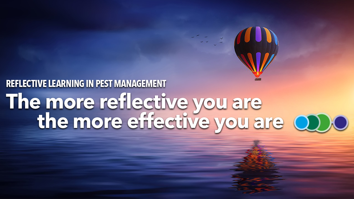 The more reflective you are the more effective you are