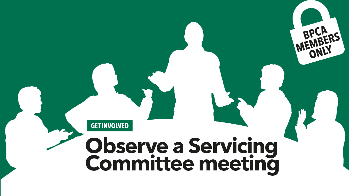 Observe a committee meeting