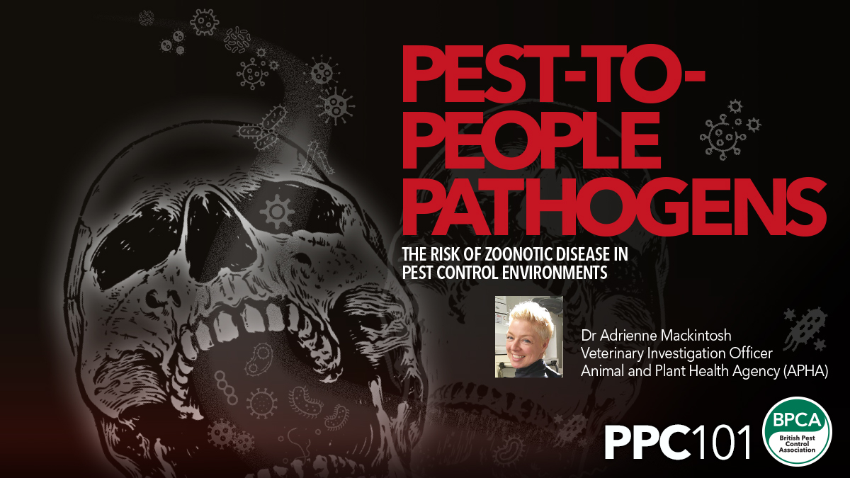 The risk of zoonotic disease in pest control environments